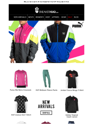 Shop New Apparel In Now!