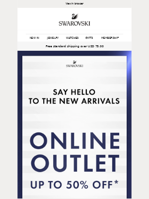 Swarovski - NEW to the OUTLET