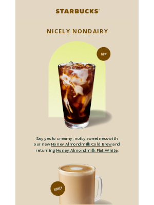 Starbucks - ✨ Nurture your need for a pick-me-up ✨