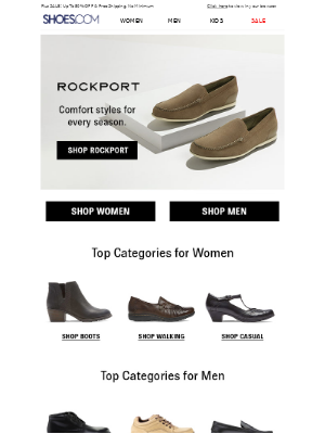 SHOES - Rockport || New Fall Styles Are Here!