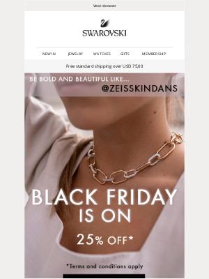 Swarovski - Styles for you: Shop Black Friday now