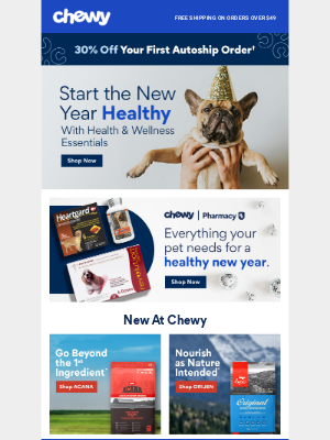 Chewy - Make Pet Wellness a Part of the New Year