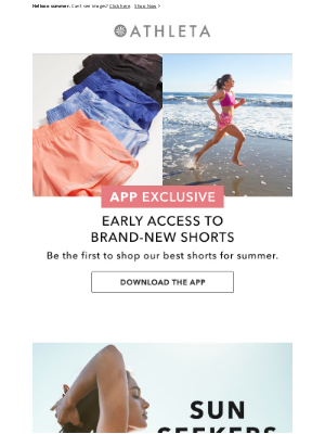 Athleta - New Swim: It's All in the Details