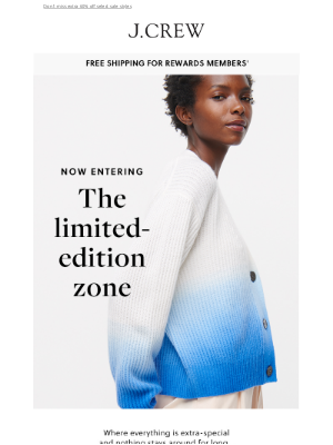 J.Crew - Limited-edition styles for peak summer