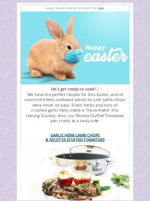 Chantal Cookware - 👒🐰Easter Recipes! Save on Bakeware Sets🐣
