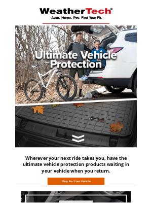 WeatherTech - Ultimate Vehicle Protection 🍁