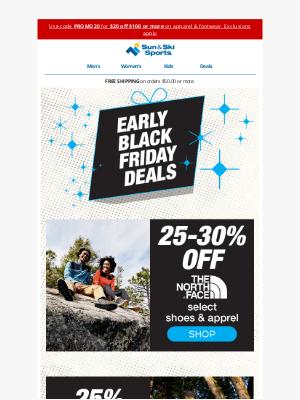 Sun & Ski - Early Black Friday Deals - WHOA!
