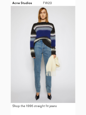 Acne Studios - The new straight fit jeans