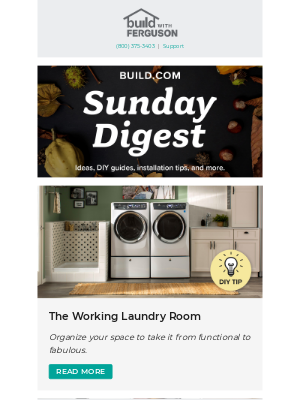 Build - Sunday Digest: we have the info on making cleaning easier.