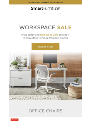Don't Miss Out! Save Up To 20% on Ergonomic Office Chairs NOW.