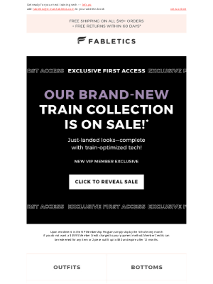 Fabletics - 70% Off today's NEW drop!
