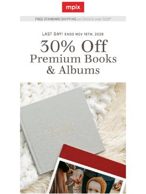 Mpix - 30% off Photo Books & Albums Ends Tonight ⏰