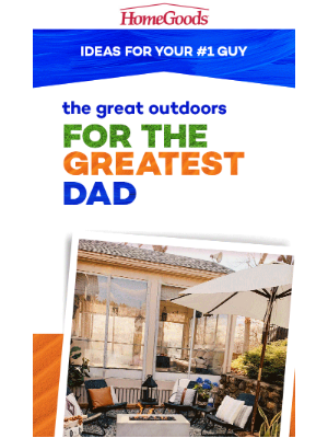 Fresh air & fresh finds for Father's Day!