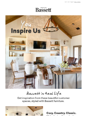 Bassett Furniture Industries - We ❤️ Your Space
