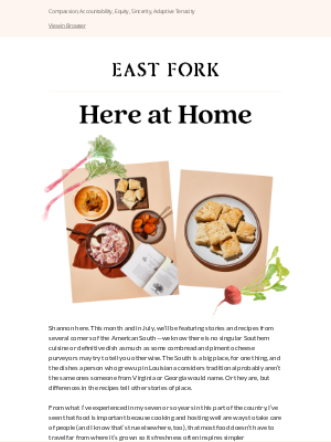 East Fork - Culinary Gems of the American South
