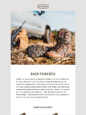 LaCrosse Footwear Inc - Built for the Hunt