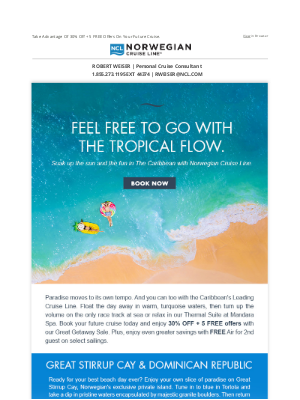 Norwegian Cruise Line - Psst... Get Away With This Great Deal!