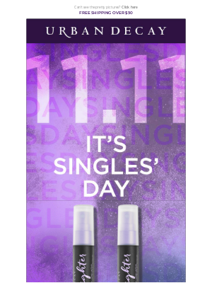It's Singles' Day, treat yourself