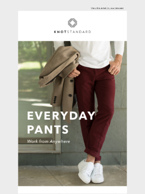 Knot Standard - Keep it Casual | Everyday Pants 👖