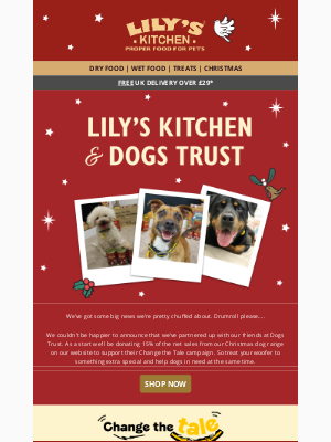 Lily's Kitchen (UK) - An exciting new partnership🐾