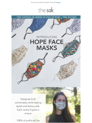 NEW Face Masks - Assorted 5-Pack