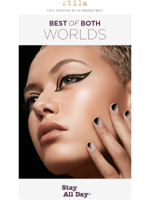 Stila Cosmetics - This Eyeliner is the best of both worlds