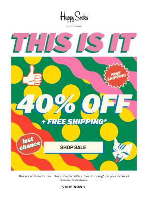 Buy-Buy, Summer Sale   40% off 👋