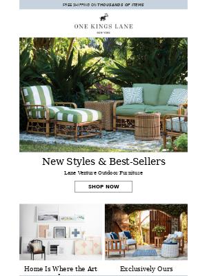 NEW Lane Venture outdoor furniture