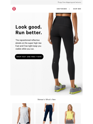lululemon (AU) - We reflected on the Fast and Free