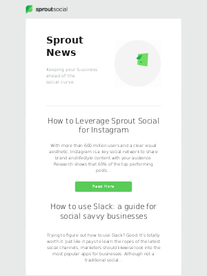 How to Leverage Sprout Social for Instagram