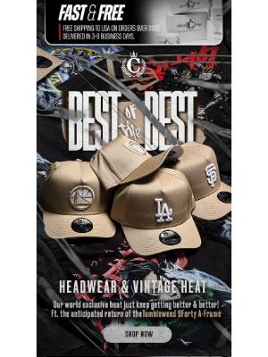 Culture Kings (AU) - ATTN: Best-Selling Headwear + Vintage ✅😱