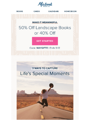 Mixbook - 3 Ways to Capture Life's Special Moments