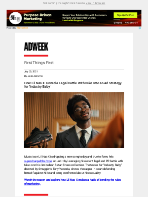 Adweek - How Lil Nas X Turns Conflict Into Marketing