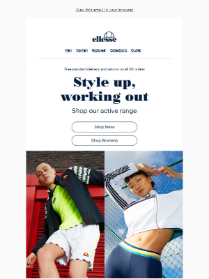 ellesse - Style up | working out