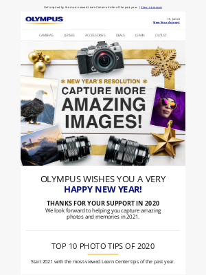 Olympus - 🎉 Top 10 Photo Tips of 2020