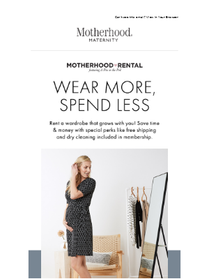 Destination Maternity - Rent unlimited styles every month!