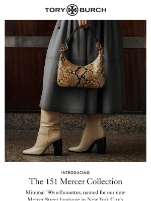 Tory Burch - Introducing the 151 Mercer Collection