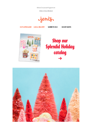 Jeni's Splendid Ice Creams - New! Like a breath of cool mint air