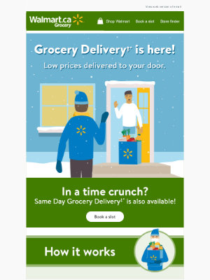 Walmart (CA) - Grocery Delivery is HERE 🍏