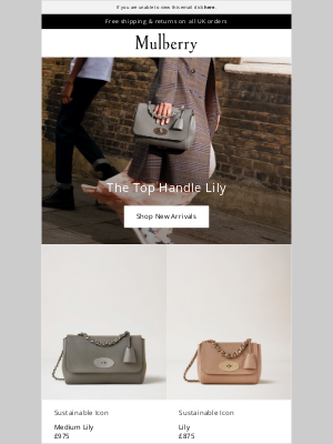 Mulberry (UK) - The New Mulberry Lily