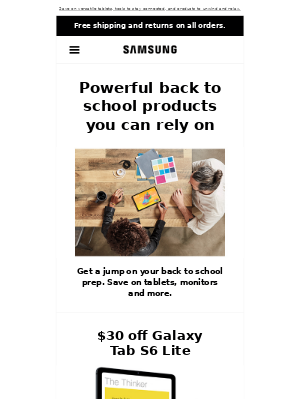 Pearl, it's time for back to school deals!