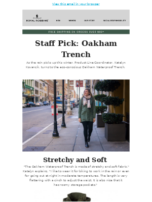 Stay Dry with Oakham Eco-Conscious Jackets