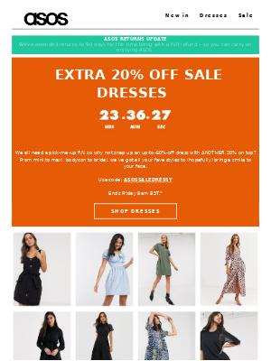 EXTRA 20% OFF SALE DRESSES