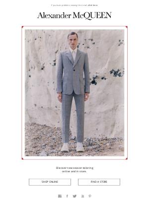 Alexander McQueen - New Season Tailoring