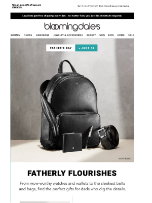 Stylish accessories for fashionable fathers