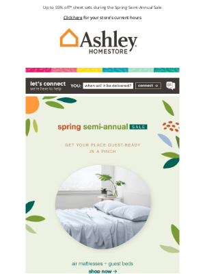 Ashley Furniture HomeStore - >>> Sleeping Situation Solution (Say That 5x Fast)