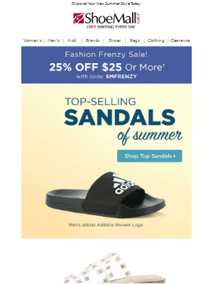 Top-Selling Sandals Of Summer