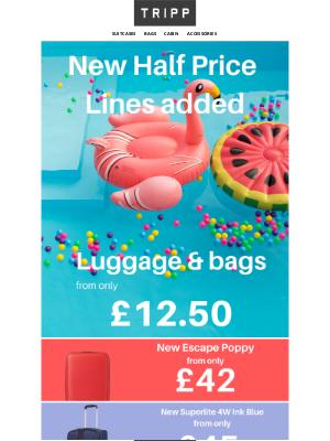 Tripp (UK) - Our half price Summer sale just got bigger!