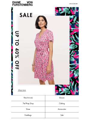 DVF - Sale Alert: Up To 40% Off