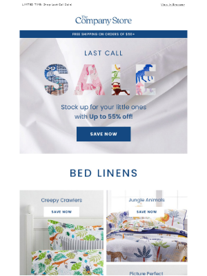 Up to 55% Off: Sweet Dreams for Your Little Ones